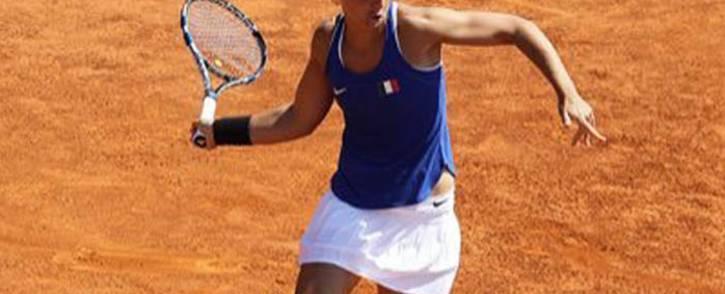 FILE:  Italian player Sara Errani. Picture: Twitter/@SaraErrani.