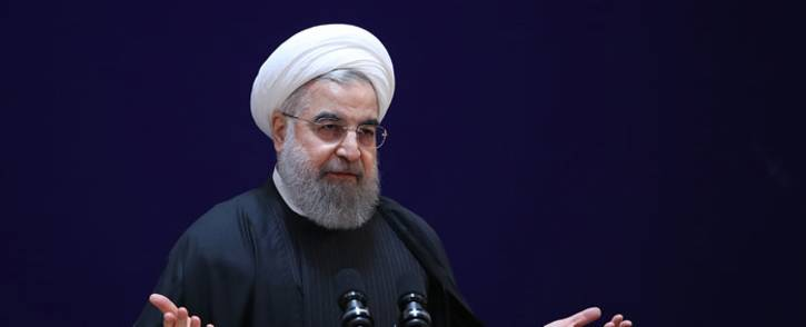 A handout picture provided by the office of Iranian President Hassan Rouhani shows him speaking at a conference in the capital Tehran. Picture: AFP.