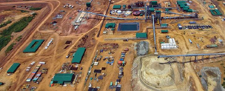 Banro Corp's Namoya gold mine in eastern Democratic Republic of Congo. Picture: Supplied