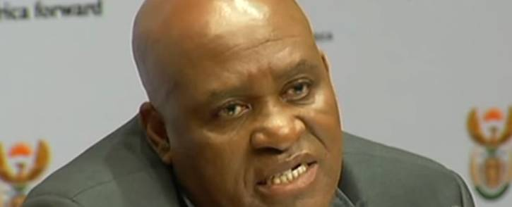 YouTube screengrab of Hawks Major General Berning Ntlemeza.