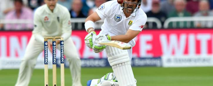 FILE: Proteas batsman Dean Elgar in action. Picture: AFP