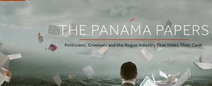 FILE: A screengrab of the International Consortium of Investigative Journalists website where it unpacks the details of the 'Panama Papers'.