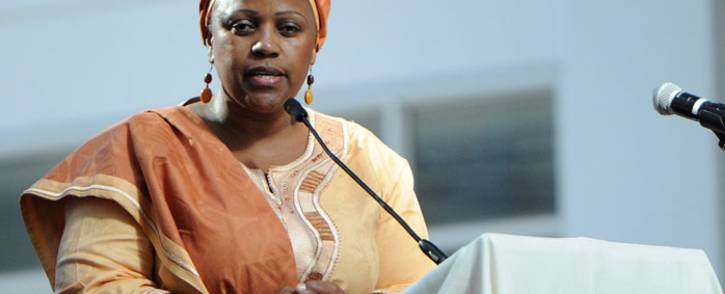 FILE: Former SAA chairperson Dudu Myeni. Picture: GCIS