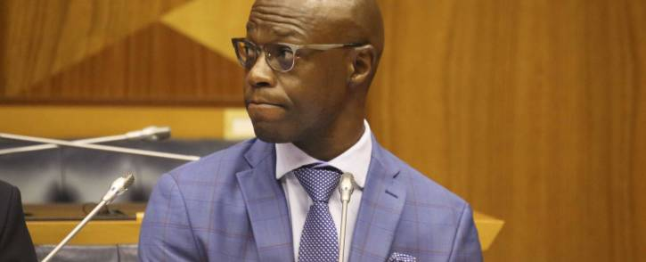 Eskom executive Matshela Koko testifying before the Eskom parliamentary inquiry into state capture on 24 January 2018. Picture: Cindy Archillies/EWN
