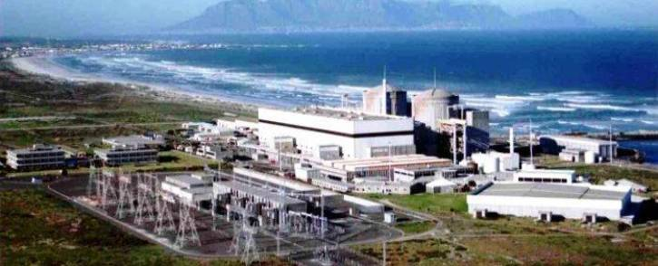 FILE: Eskom's Koeberg nuclear power station. Picture: Eskom.