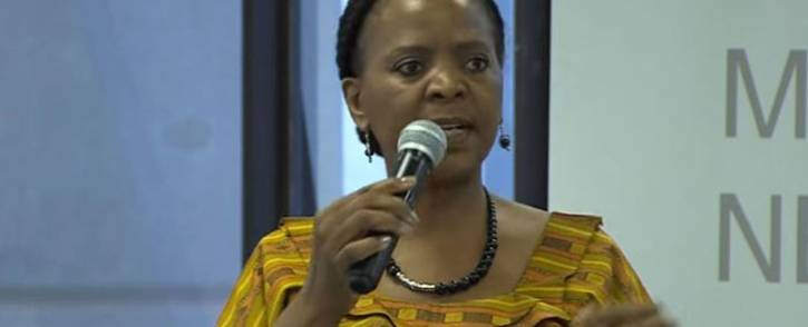 FILE: Gauteng Social Development MEC Nandi Mayathula-Khoza. Picture: YouTube screengrab.