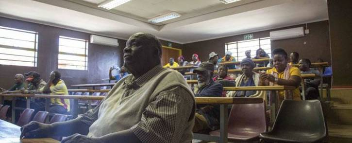 FILE: Leaders of the protest meet in Vuwani to discuss the way forward. Picture: Thomas Holder/EWN