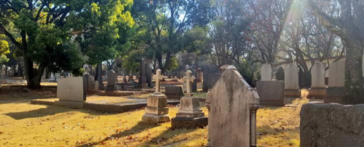A general view of one of the burial sites in Johannesburg. Picture: @CityofJoburgZA/Twitter