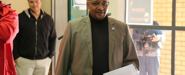 Independent Electoral Commission Chairperson Glen Mashinini. Picture: Christa Eybers/EWN.