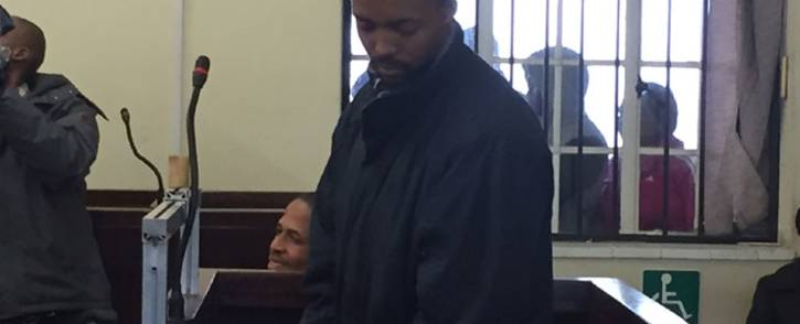 FILE: Mark Warona Zinde appears at the Brits Magistrates Court. Picture: Kgothatso Mogale/EWN