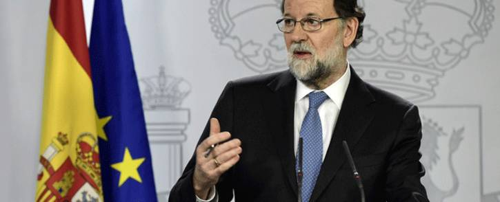 FILE: Spanish Prime Minister Mariano Rajoy. Picture: AFP.