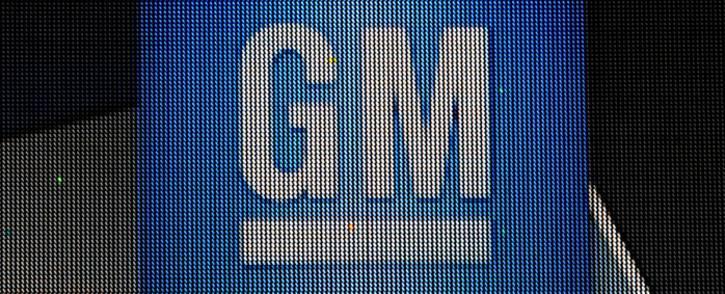 The General Motors logo. Picture: AFP