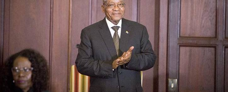 President Jacob Zuma at the swearing-in ceremony of his new Cabinet on 31 March 2017 in Pretoria. Picture: Reinart Toerien/EWN