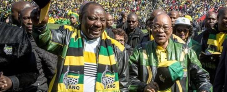 FILE: ANC deputy president Cyril Ramaphosa (left) and ANC president Jacob Zuma (right). Picture: EWN.