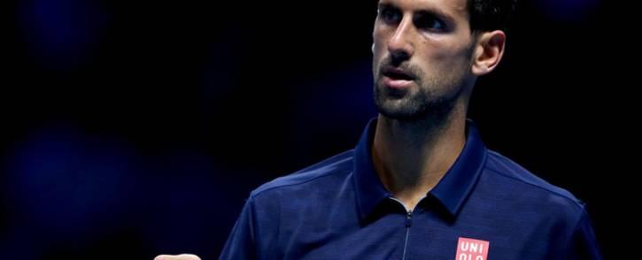 A screengrab of world number two Novak Djokovic. Picture: Twitter/@TennisTV.
