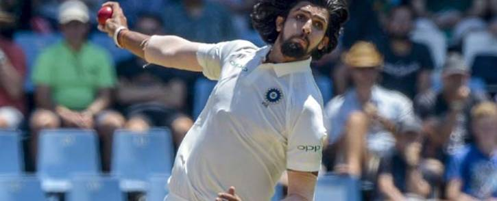Seamer Ishant Sharma in action on the fourth day of the second Test between South Africa and India. Picture: @OfficialCSA/Twitter.
