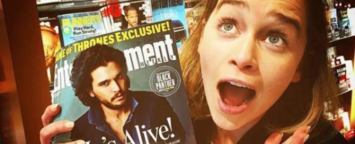 'Game of Thrones' actress Emilia Clarke . Picture: emilia_clarke/instagram.com