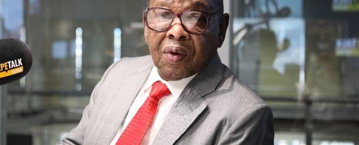 FILE: Transport Minister Blade Nzimande. Picture: CapeTalk