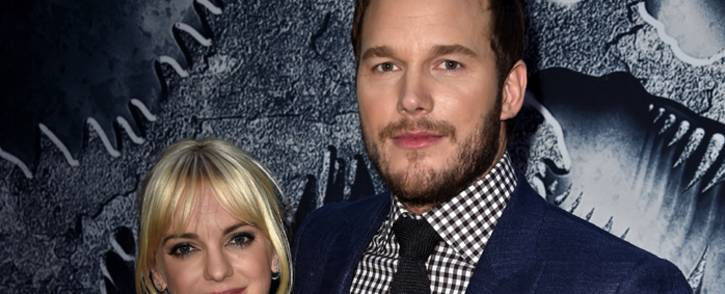 """Actors Chris Pratt (R) and Anna Faris attend the Universal Pictures """"Jurassic World"""" premiere at the Dolby Theatre on 9 June, 2015 in Hollywood, California. Picture: AFP"""