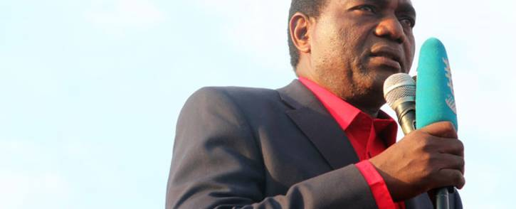 FILE: Zambian opposition leader Hakainde Hichilema. Picture: AFP