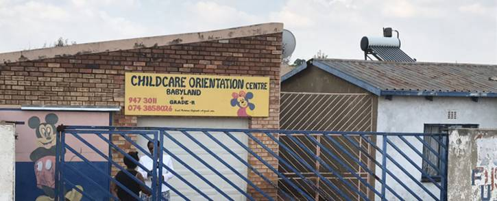 The Child Care Orientation Centre in Klipspruit West where 9 children were diagnosed with listeriosis. Picture: Thando Kubheka/EWN