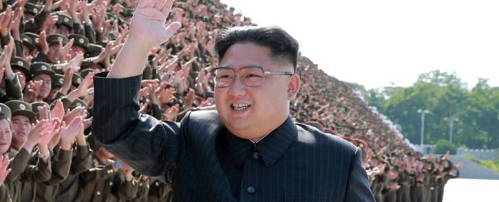 This undated picture released by North Korea's official Korean Central News Agency on 2 September 2017 shows North Korean leader Kim Jong-Un in Pyongyang. Picture: AFP.