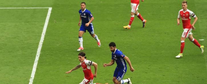 Arsenal vs Chelsea. Picture: @Arsenal.
