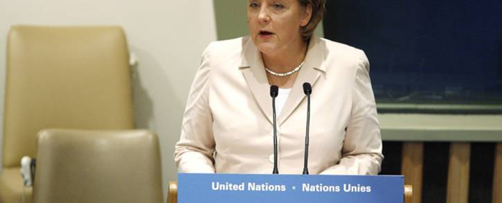 Chancellor Angela Merkel. Picture: United Nations Photo.