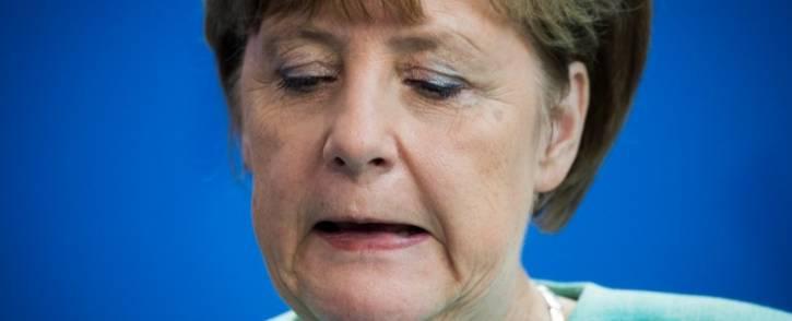 German Chancellor Angela Merkel on 30 June 2015. Picture: AFP.