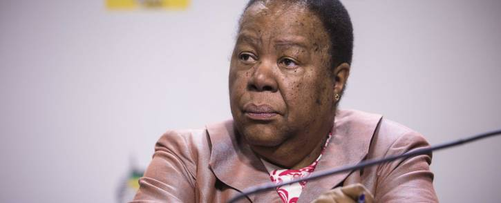 FILE: Minister of Science and Technology Naledi Pandor. Picture: Thomas Holder/EWN.