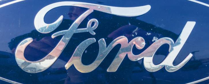 The Ford logo. Picture: AFP.