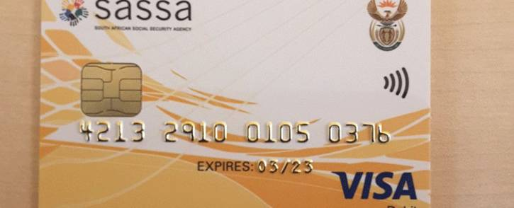 New Sassa cards. Picture: OfficialSASSA/Twitter.