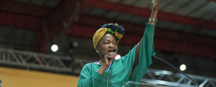 Baleka Mbete during the nominations process at the ANC's national conference on 17 December 2017. Picture: Ihsaan Haffejee/EWN