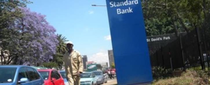 A Standard Bank branch in Johannesburg. Picture: EWN.