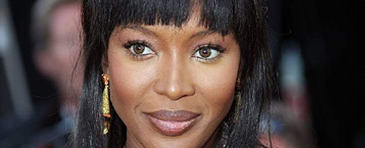 British supermodel Naomi Campbell. Picture: AFP