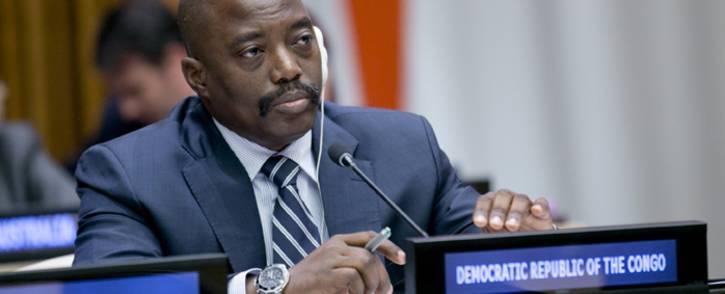 FILE: Democratic Republic of Congo President Joseph Kabila. Picture: United Nations Photo
