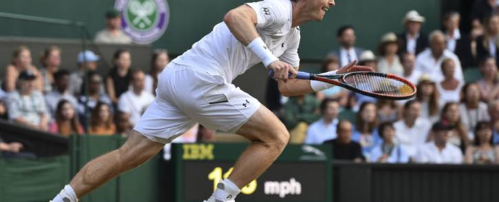FILE: Andy Murray during the 2017 Wimbledon Championships. Picture: AFP.