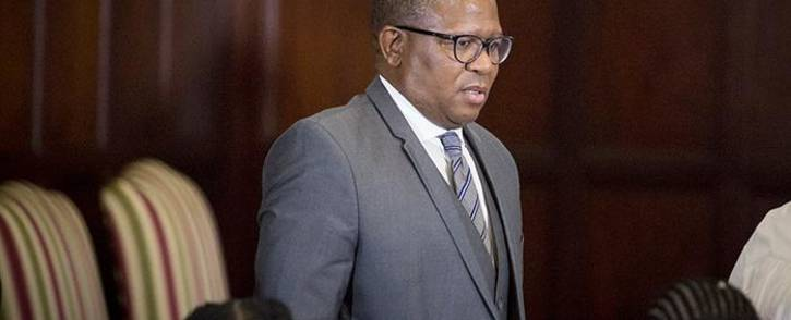 New Minister of Police Fikile Mbalula attended the swearing-in ceremony of President Jacob Zuma's new Cabinet in Pretoria on 31 March 2017. Picture: Reinart Toerien/EWN