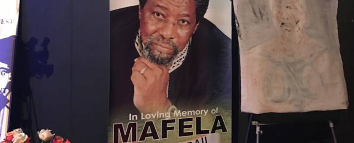 Joe Mafela is remembered at a memorial service at the Joburg Theatre on 23 March 2017. Picture: Kgothatso Mogale/EWN.