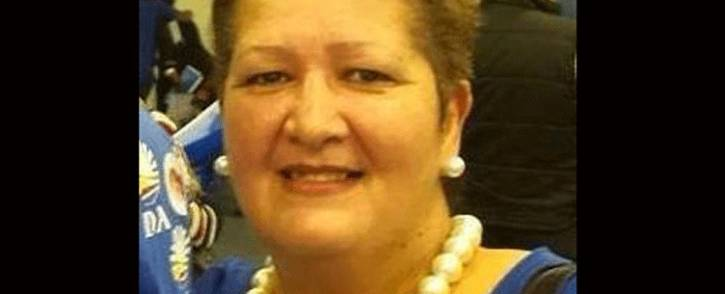 Suzette Little, former chairperson of the Democratic Alliance's caucus in Cape Town. Picture: @SuzetteSlittle/Twitter.