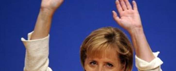 German Chancellor Angela Merkel. Picture: AFP.