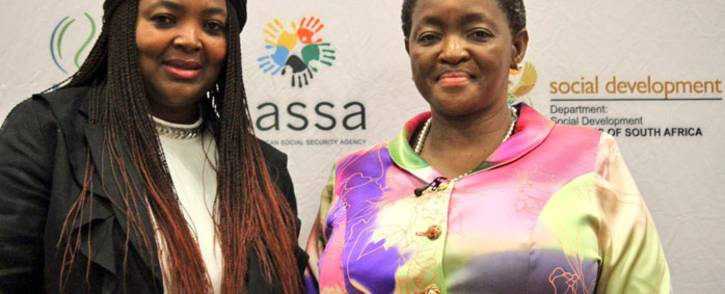 FILE: Sassa interim CEO Pearl Bhengu and Social Development Minister Bathabile Dlamini. Picture: Twitter/@The_DSD