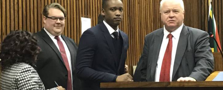 Duduzane Zuma appears in the Randburg magistrates court on 12 July 2018. Picture: Barry Bateman/EWN