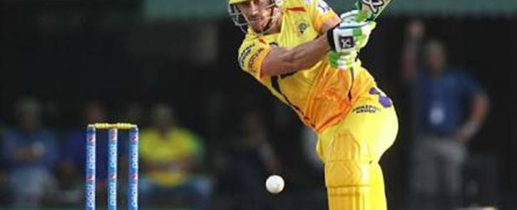 Faf du Plessis scored an unbeaten 67 to guide Chennai to the IPL final. Picture: Twitter/@CSKUniverse