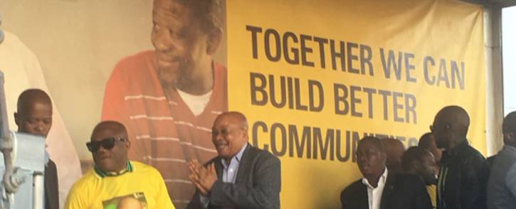 President Jacob Zuma addressed supporters at the Absa Stadium in Durban on 25 June 2016. Picture: Clement Manyathela/EWN.