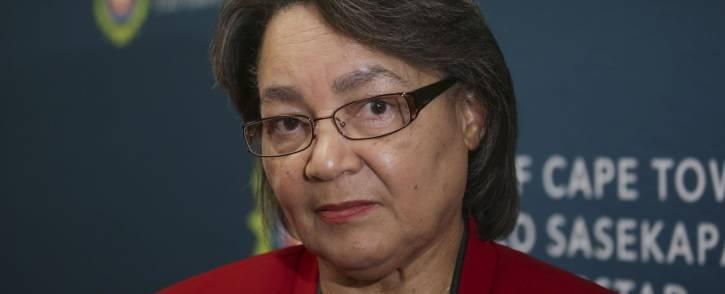 FILE: Mayor of Cape Town, Patricia de Lille. Picture: Cindy Archillies/EWN.
