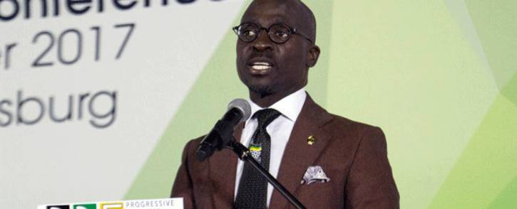 FILE: Finance Minister Malusi Gigaba. Picture: @MYANC/Twitter