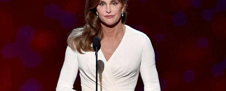 Caitlyn Jenner accepts the Arthur Ashe Courage Award onstage during The 2015 ESPYS at Microsoft Theater on 15 July 2015 in Los Angeles, California. Picture: Getty Images/AFP