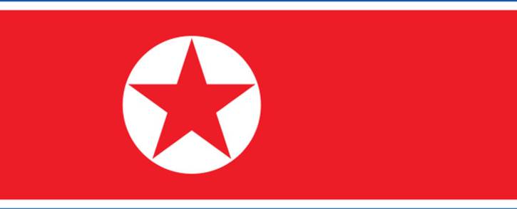 North Korea flag. Picture: Wikipedia.
