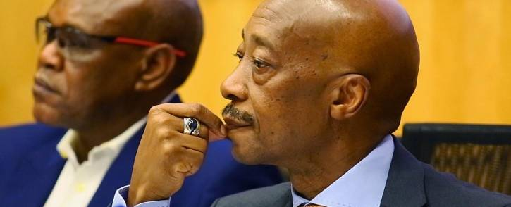 FILE: Suspended South African Revenue Service Commissioner Tom Moyane. Picture: Sethembiso Zulu/EWN.